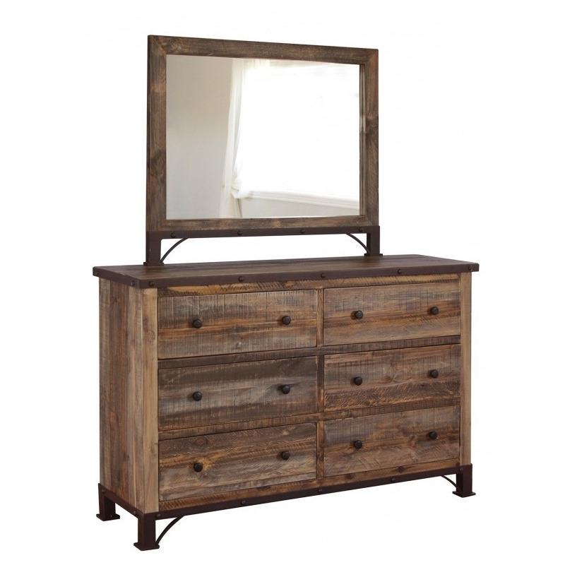 Antique Dresser & Mirror by Artisan Home - IFD966DSR+ ...